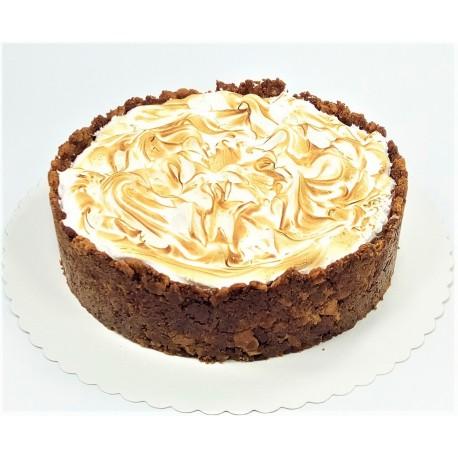 Citronový cheesecake s limetkovou pěnou