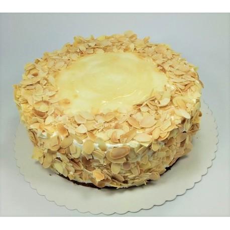 Bezlaktózový hruškový dort