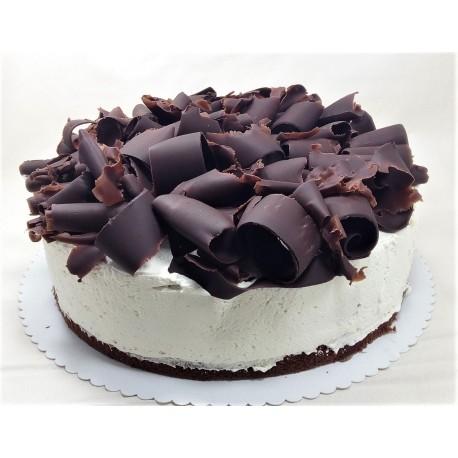 Bezlepkový višňový dort