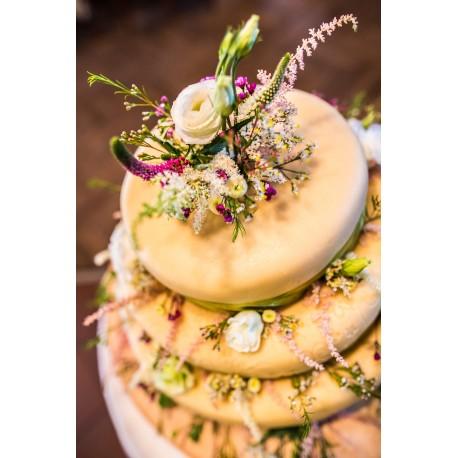 Horský marcipánový dort s lučním kvítím