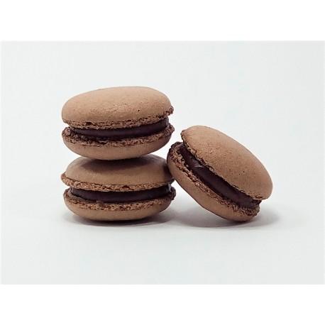 Makronky čokoládové